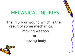 forensic - mechanical injuries.ppt