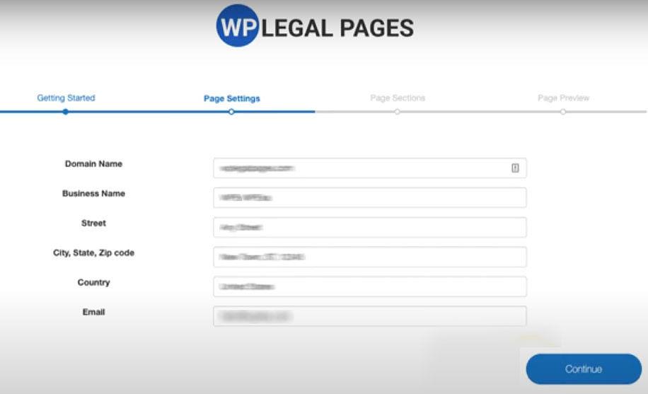 wp legalpages wordpress plugin