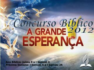 concurso bíblico 2012 - 12.ppt