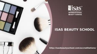 Isas beauty school accreditations page.pptx