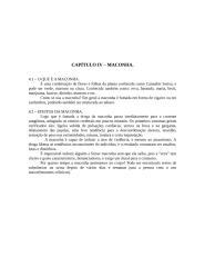 CAPÍTULO IV - Maconha.doc
