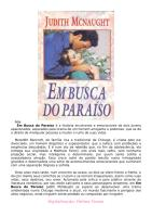 (Trilogia Second Opportunities 01) - Judith McNaught - Em Busca do paraiso.doc