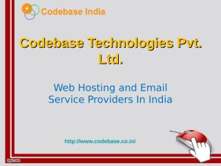 Web Hosting and Email Service Providers In India.ppt