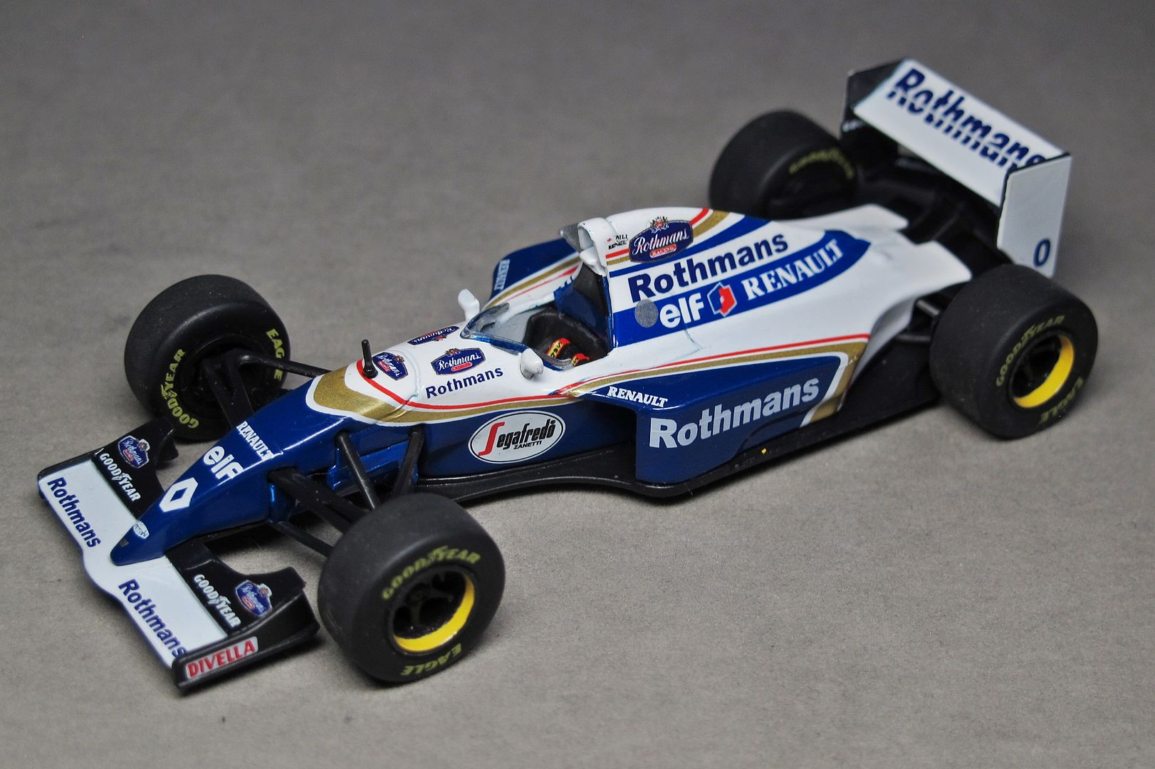 Formula 1 №22 - Williams FW16 - Дэймон Хилл (1994)