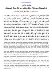 20 solawat yang diriwayatkan oleh al-imam ghazali.pdf