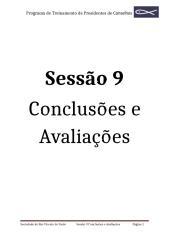 9 Sessão Conclusões e avaliações.doc