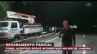 Túnel Acústico Segue Interditado No Rio
